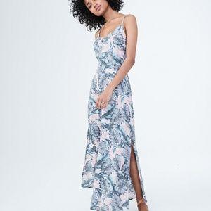 Aeropostale Dresses - Aeropostale Palm Branch Maxi Dress